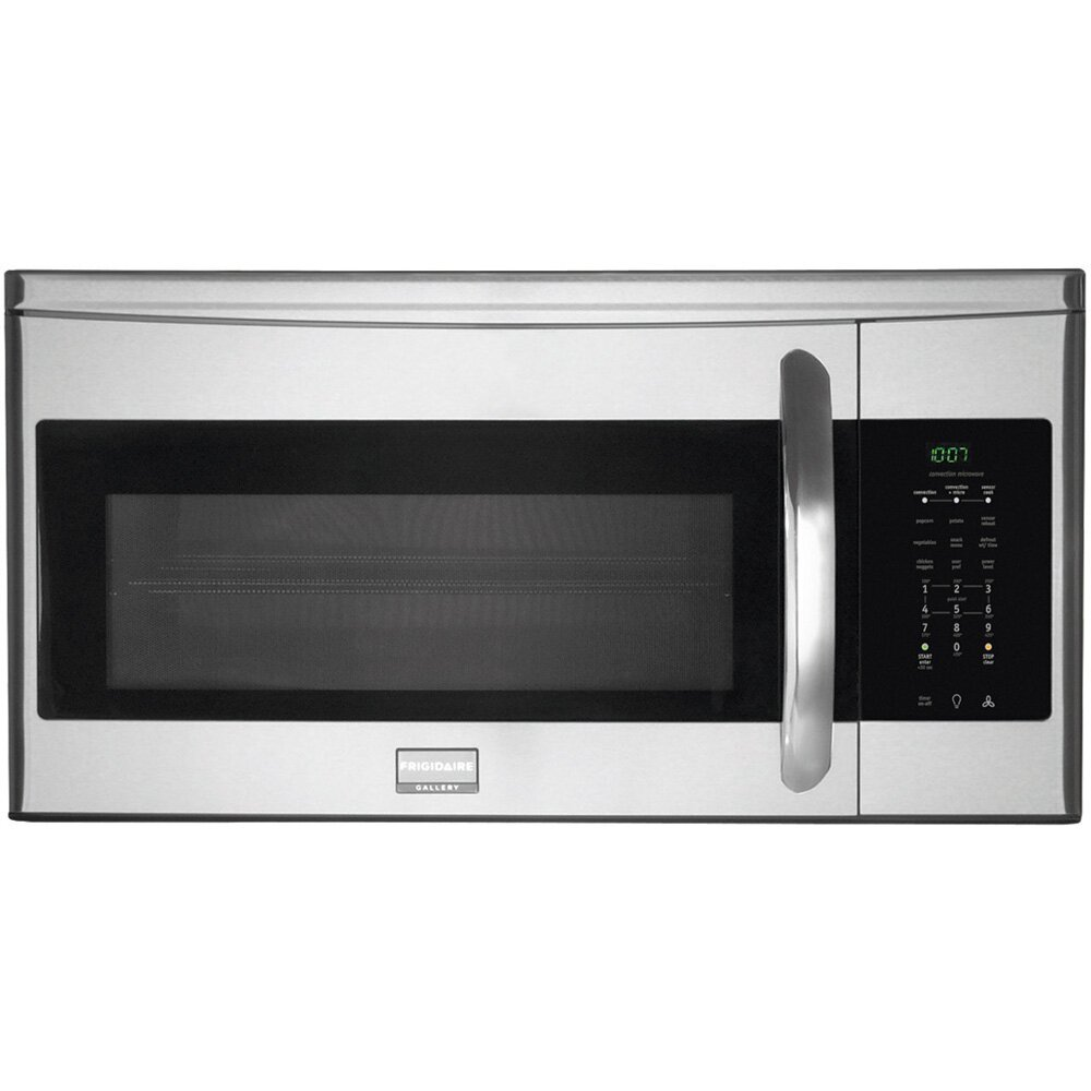 frigidaire gallery microwave over the range manual