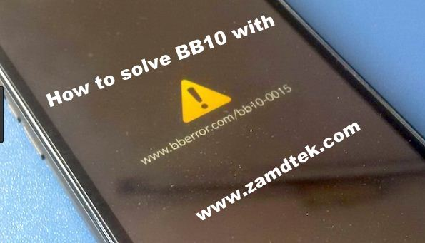 how to flash blackberry z10 manually