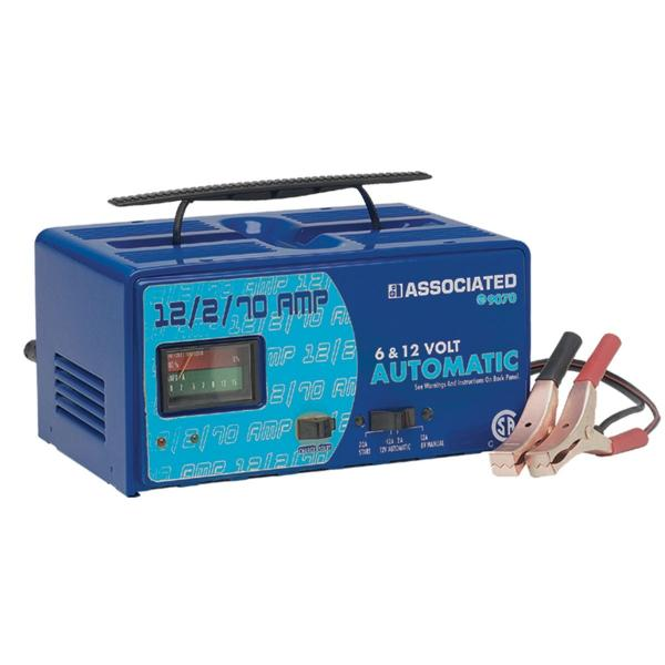 battery charger with manual settings