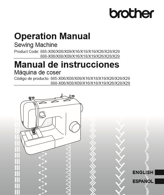 brother sewing machine ce 1000 manual