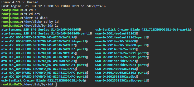 manually changing the ip unraid