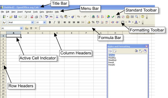 difference between manual and electronic spreadsheet
