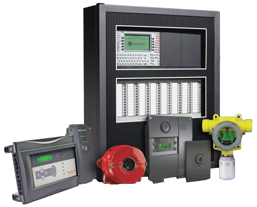 manual fire alarm system components