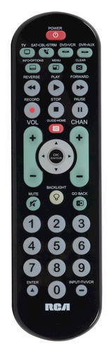 rca model number j25420 manual add to universal remote